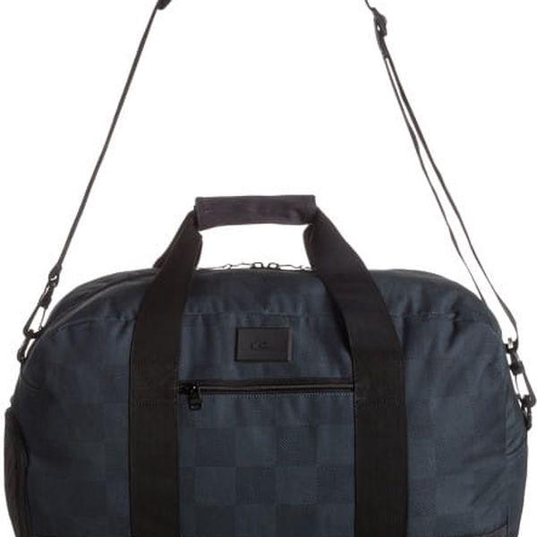 Quiksilver Cestovní taška Medium Shelter 43L BP Cap Checks Black EQYBL03028-KVJ7