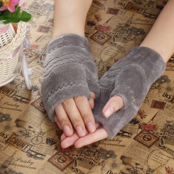 Dámské rukavice bez prstů - 4 barvy