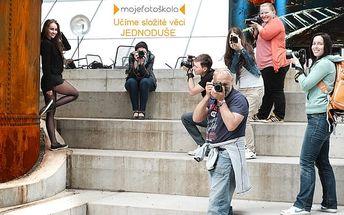 Tlačítko po tlačítku 1 - kurz fotografování v Praze