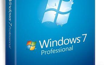 Windows 7 Professional s bezplatným upgradem na desítky + certifikát pravosti - poštovné zdarma