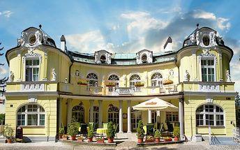 3 nebo 6denní wellness pobyt pro 2 v Mariánských Lázních v hotelu Saint Antonius
