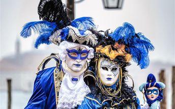 Karneval v Benátkách, Itálie, Benátská riviéra, 3 dní, Autobus, Bez stravy, Neznámé, sleva 10 %