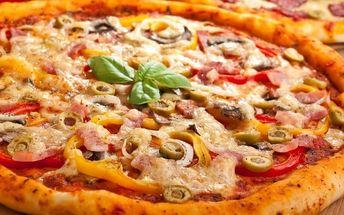 Dvě perfektní pizzy dle vlastního výběru