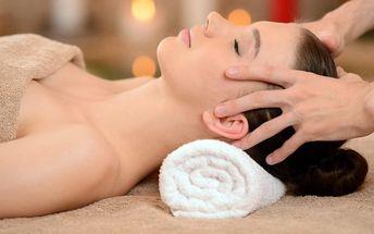 Relaxační masáž hlavy pro odbourání stresu