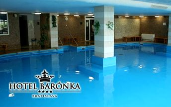 Na zážitky bohatý pobyt v Hotelu Barónka**** Bratislava
