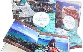 Fotokniha z vlastních fotografií: 24-96 stran, formát A4 na výšku či na šířku nebo čtverec
