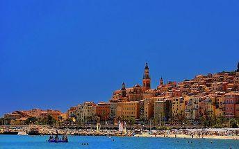 Krásy azurového pobřeží, Francie, Azurové pobřeží, 5 dní, Autobus, Snídaně, Neznámé, sleva 0 %