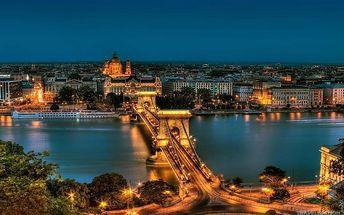 Romantická Budapešť, Maďarsko, Budapešť a okolí, 2 dní, Autobus, Snídaně, Neznámé, sleva 25 %