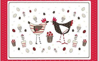 Skleněné prkénko Cooksmart England Chicken - doprava zdarma!