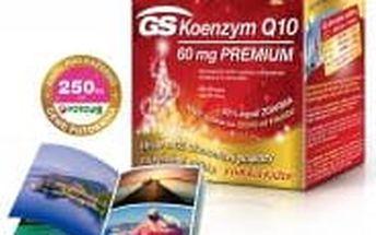 GS Koenzym Q10 60mg Premium vánoční balení 60+30 kapslí + DÁREK