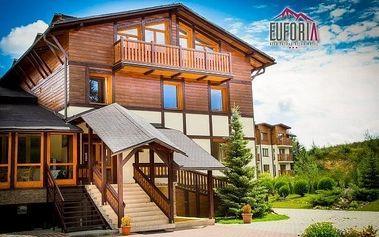 Vysoké Tatry s polopenzí a vířivkou