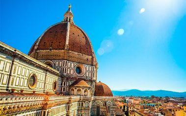 Florencie, Řím, Vatikán (muzea zdarma), Itálie, Lazio, 5 dní, Autobus, Snídaně, Neznámé, sleva 0 %