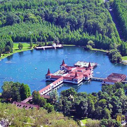 Hévíz pro DVA s neomezeným wellness, vstupenkou k jezeru a snídaní či polopenzí