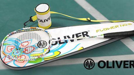 Stylová badmintonová raketa od Oliveru