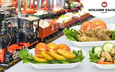 Neomezené hody v kavárně Golden Pacific Café