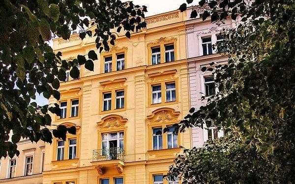 3–5denní pobyt se snídaněmi a vínem pro 2 v hotelu Haštal**** v Praze