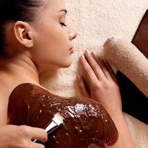Luxusní čokoládová masáž + zábal 100% čokoládou