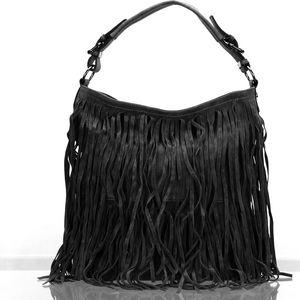 Co & Coo Fashion dámská kabelka s třásní crossbody