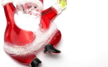 Ozdoba na světelný závěs - santa