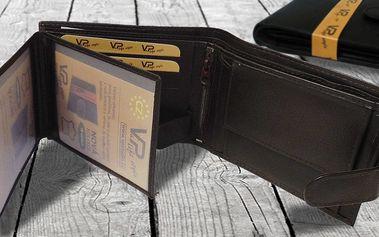 Stylové peněženky MaxiM z pravé kůže