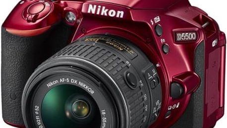 Nikon D5500 + AF-P 18-55 VR