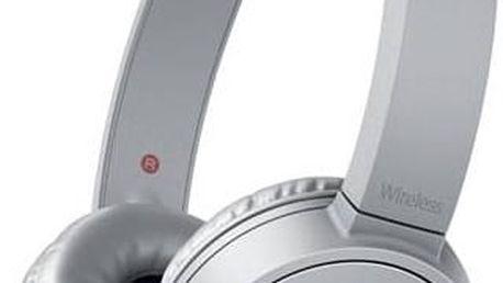 Sony MDRZX220BTH.CE7 (MDRZX220BTH.CE7) šedá