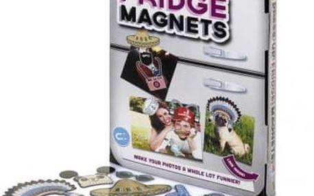 Veselé fotomagnetky na ledničku Dress Up