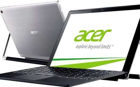 Acer Switch Alpha 12 (SA5-271-75PY), stříbrná - NT.LCDEC.002 + Microsoft Office 365 pro domácnosti - 1 rok v ceně 2299 Kč