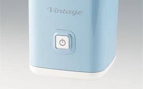 ARIETE 2878/04 - Vintage zpěňovač mléka, modrý; 2878/05