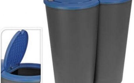 Koš odpadkový 2x25 l, modrý ProGarden KO-Y54220510modr