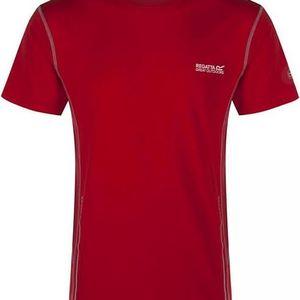 Pánské funkční tričko REGATTA RMT105 JENOLAN Červená