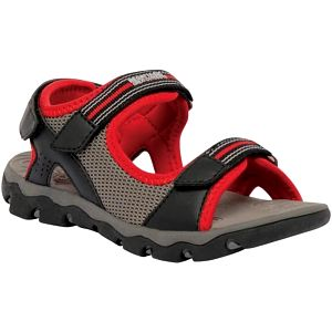 Dětské sandály Regatta RKF409 TERRAROCK Black/RedA