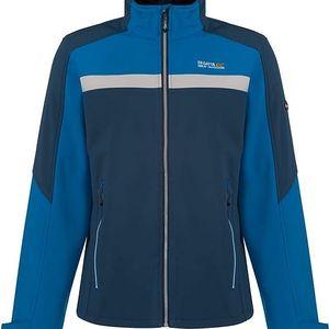 Pánská softshellová bunda Regatta RML132 PARKLEY Blue / Blue Wing