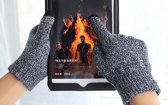 Pánské rukavice na dotykový displej - 4 barvy