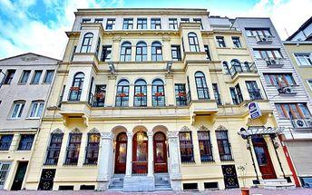 Turecko - Istanbul na 4 dny, snídaně s dopravou letecky z Prahy