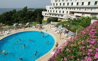 Hotel Delfin, Chorvatsko, Istrie, 8 dní, Vlastní, Polopenze, Alespoň 2 ★★, sleva 6 %