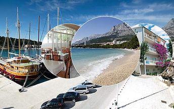 Doprava za polovinu! 8–10denní Chorvatsko, Makarská | Villa Grubišič*** | Doprava, ubytování, polopenze