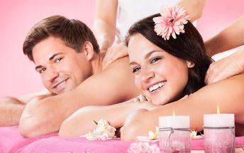 60 minut blaha při párové masáži dle výběru