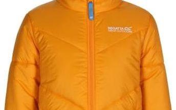 Dětská zimní bunda Regatta RKN047 ICEBOUND Gold Heat