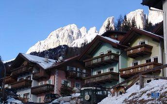 Silvestr na horách: Itálie - Val di Fassa e Carezza na 8 dní, bez stravy s dopravou vlastní