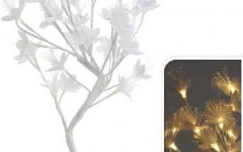 Vánoční světelný strom květy, 32LED, 45 cm, teplá bíláEXCELLENT KO-AXF200630