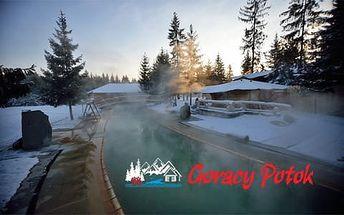 Termální koupaliště Goracy Potok se vstupem pro rodiny či jednotlivce