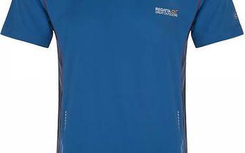 Pánské funkční tričko REGATTA RMT105 JENOLAN Modrá