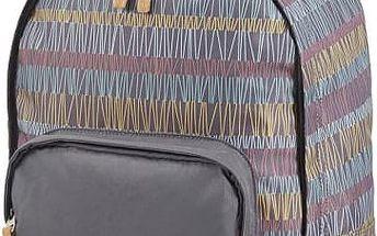 Městský batoh HIGH SIERRA POL678 SPEY Grey Stripes