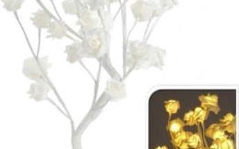 Vánoční světelný strom růže, 32LED, 45 cm, teplá bíláEXCELLENT KO-AXF200600