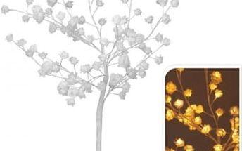 Vánoční světelný strom růže, 96LED, 100 cm, teplá bíláEXCELLENT KO-AXF200610