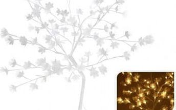 Vánoční světelný strom květy, 96LED, 100 cm, teplá bíláEXCELLENT KO-AXF200640