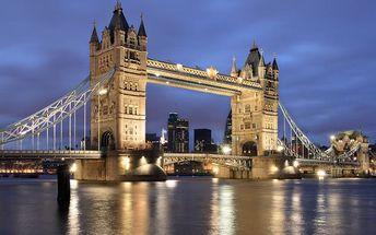 Velká Británie - Londýn na 3 až 4 dny, snídaně s dopravou letecky z Prahy