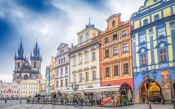 Praha se snídaní a platností do září 2017