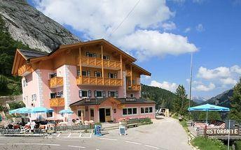 Silvestr na horách: Itálie - Arabba/Marmolada na 7 dní, polopenze s dopravou autobusem